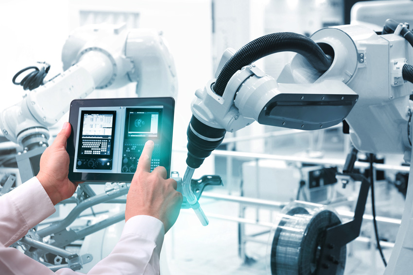 Working with robots requires a lot of technical know-how